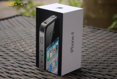 iPhone 4 ma vang xuat hien o VN