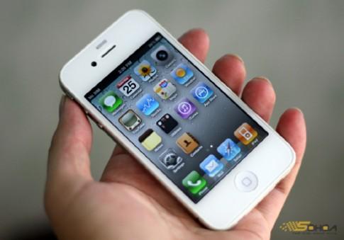 iPhone 4 mau trang van chua xuat hien