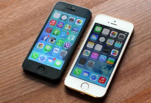 iPhone 5S do thiet ke voi iPhone 5