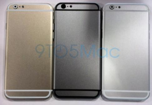 iPhone 6 man hinh 4,7 inch co 3 mau, ra mat vao thang 8