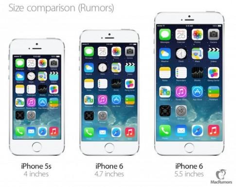 iPhone man hinh 5,5 inch tre hen den nam 2015