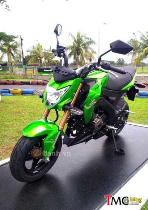 Kawasaki Z125 chinh thuc duoc ban voi gia hon 51 trieu dong