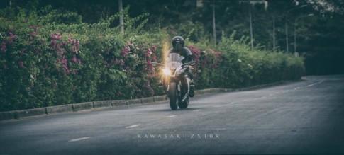 Kawasaki ZX-10R Black and White cực chất của biker Sài Thành