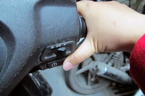 Khắc phục tình trạng xe máy khó khởi động, có tiếng nổ không đều khi trời lạnh