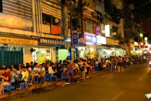 Khu pho Tay Sai Gon co the thanh pho di bo
