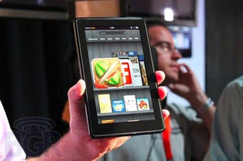 Kindle Fire bán được gần 100 nghìn máy trong ngày đầu tiên