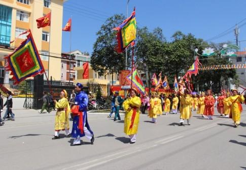Lang Son tung bung le hoi den Ky Cung - Ta Phu