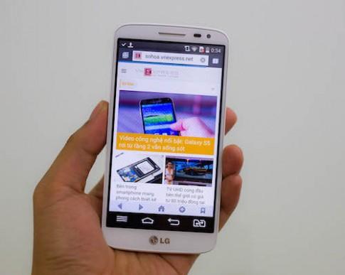 LG G2 mini ve Viet Nam gia 7,4 trieu dong