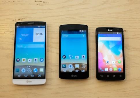 LG ra 3 smartphone moi