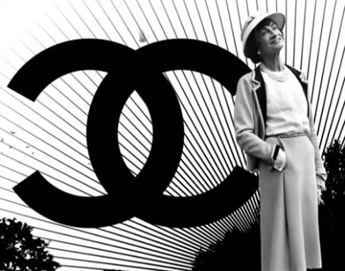 Logo thuong hieu Chanel lay cam hung tu dau