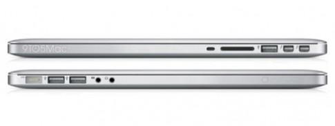 MacBook Pro moi co the mong hon, man hinh Retina