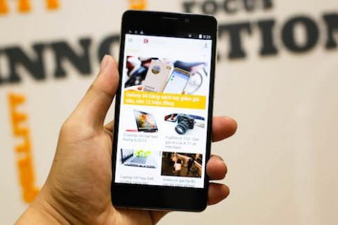 Mobiistar Prime X - smartphone gia tot, chup hinh dep