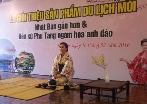 Nhật Bản gần hơn với du khách Việt
