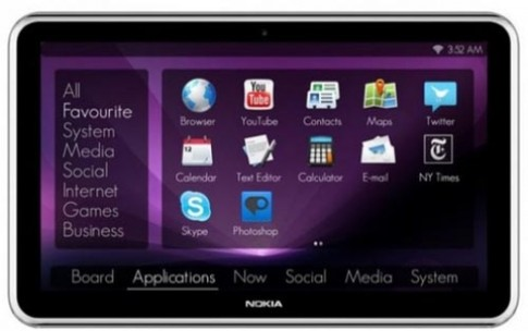 Nokia co the san xuat tablet chay Windows 8