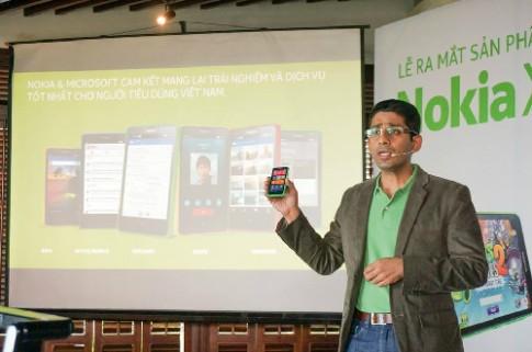 Nokia X co gia 2,55 trieu dong, ban o VN tu mai