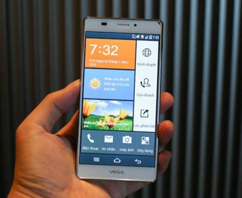 Pantech vao thi truong smartphone Viet voi Vega Iron A870