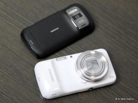 Samsung Galaxy S4 Zoom do camera voi Nokia 808 PureView