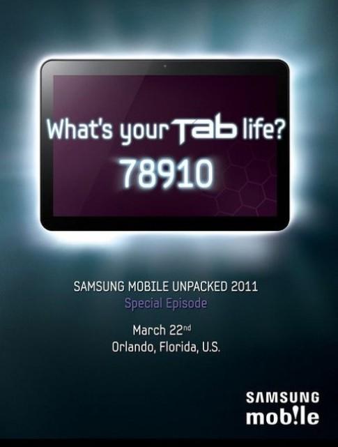 Samsung ra Galaxy Tab 8,9 inch ngay 22/3 toi