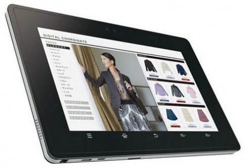 Sharp giới thiệu tablet Android 2.3 Gingerbread tại Nhật