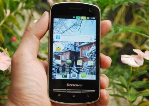 Smartphone Android 2 sim cua Lenovo