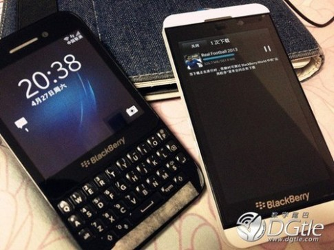 Smartphone BlackBerry 10 gia re van co RAM 2 GB