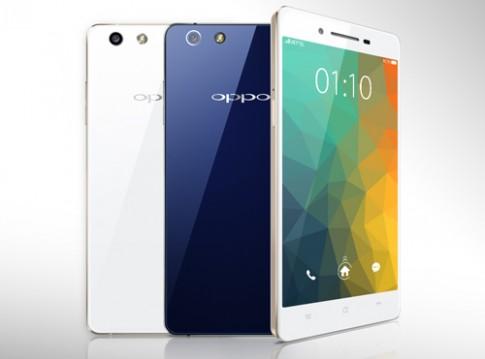 Smartphone chụp đêm Oppo R1k được bán giá 8 triệu đồng