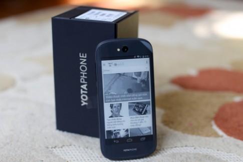 Smartphone độc đáo YotaPhone 2 màn hình về Việt Nam