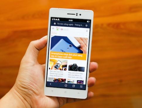 Smartphone mong nhat Viet Nam co gia gan 10 trieu dong