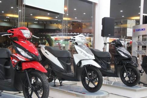Suzuki Address duoc ban tai Viet Nam voi gia 28,3 trieu dong