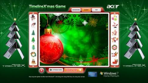 Tang o cung 500GB khi mua laptop Acer TimelineX
