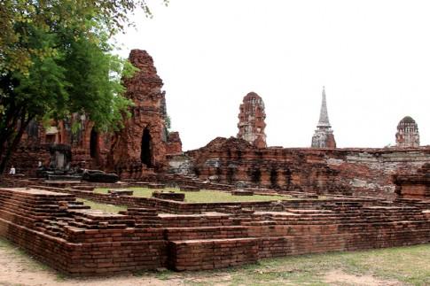 Thanh pho co Ayuthaya