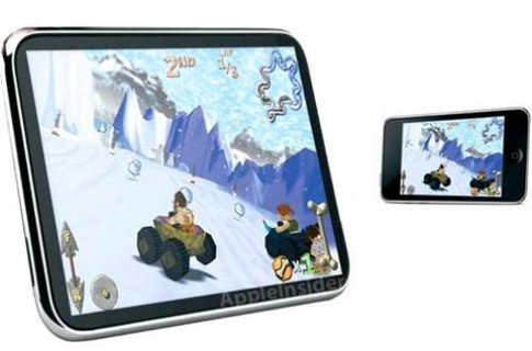 Them tin don ve Apple Tablet