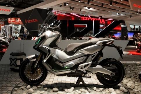 Xe tay ga địa hình Honda City Adventure xuất hiện trên đường thử
