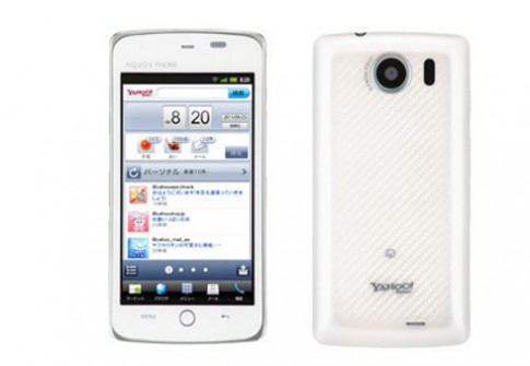 Yahoo gioi thieu smartphone chay Google Android