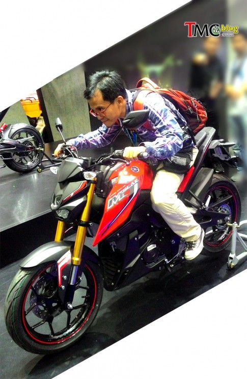 Yamaha MT-15 bi hoi lai ngay ra mat