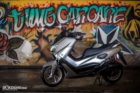 Yamaha NMax do day ca tinh va phong cach cua nguoi Thai