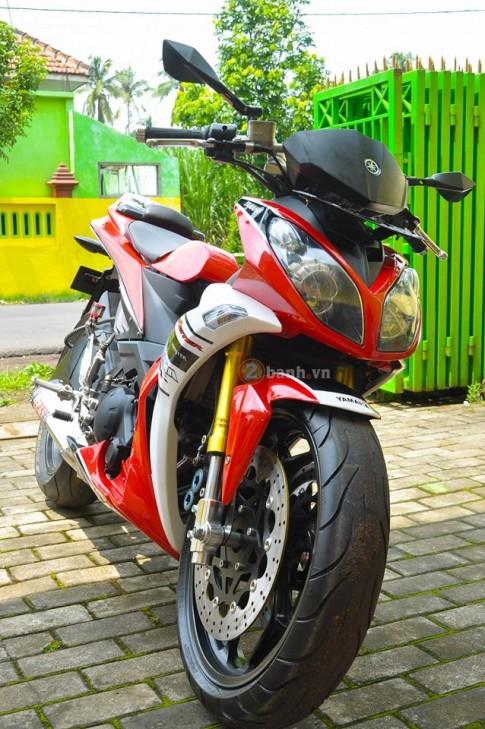 Yamaha X1R với dàn chân khủng của biker nước bạn