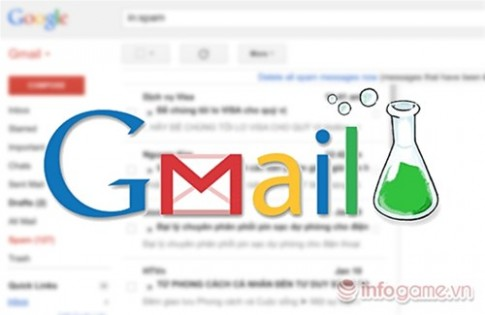 10 tính nang của Gmail Labs bạn nen sủ dụng