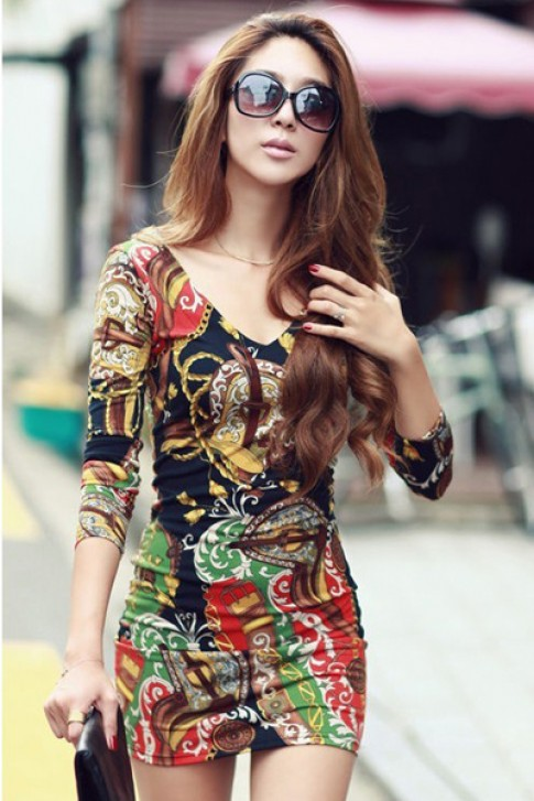 10 Váy đầm đẹp hè 2016 Hàn Quốc cho nàng công sở duyên dáng