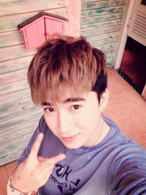 13 kieu toc nam mai bang dep sao kpop Han Quoc cho khuon mat dai 2016