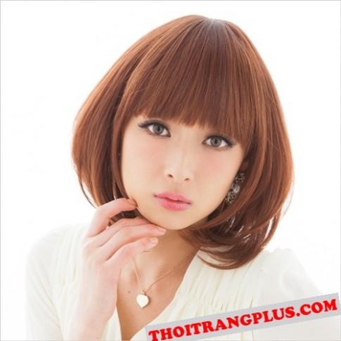 2 kiểu tóc ngắn ngang vai đẹp 2016 sao kpop Hàn Quốc