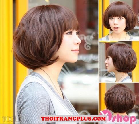 3 Kiểu tóc ngắn ngang vai đẹp 2016 Hàn Quốc cho nàng khuôn mặt dài
