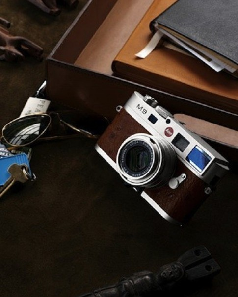 340 trieu dong cho Leica M9 boc da da dieu