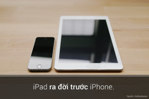 5 su that thu vi den bat ngo cua iPad