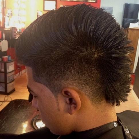 9 kiểu tóc nam Mohawk đẹp xu hướng thời trang năm nay 2016