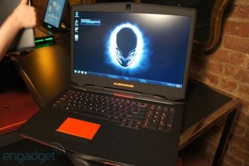 Anh thuc te laptop Alienware 17