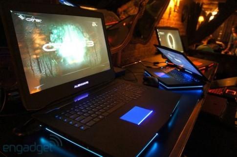 Anh thuc te laptop Alienware 18