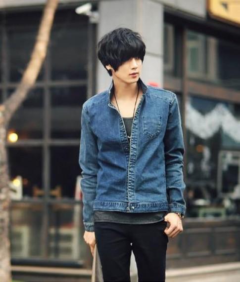 Ao khoac jean nam dep cho chang ca tinh sanh dieu thu dong 2015 – 2016