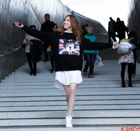 Ao khoac nu han quoc dep thu dong 2015 – 2016 ca tinh nang dong dao pho