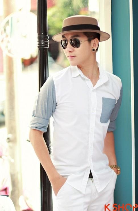 Áo sơ mi nam Hàn Quốc đẹp cực chất hè 2016 cho chàng trai trẻ trung
